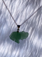 Load image into Gallery viewer, Elephant Green Aventurine Mini Pendant