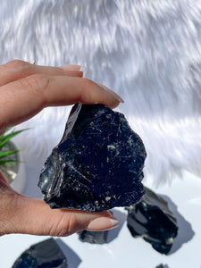 Black Obsidian Rough | Extra Large 190g-250g