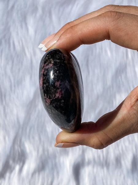 Rhodonite Heart 225g
