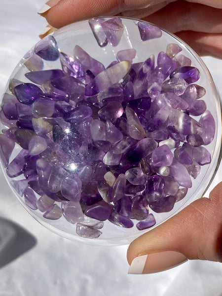 Amethyst Paper Weight 243g