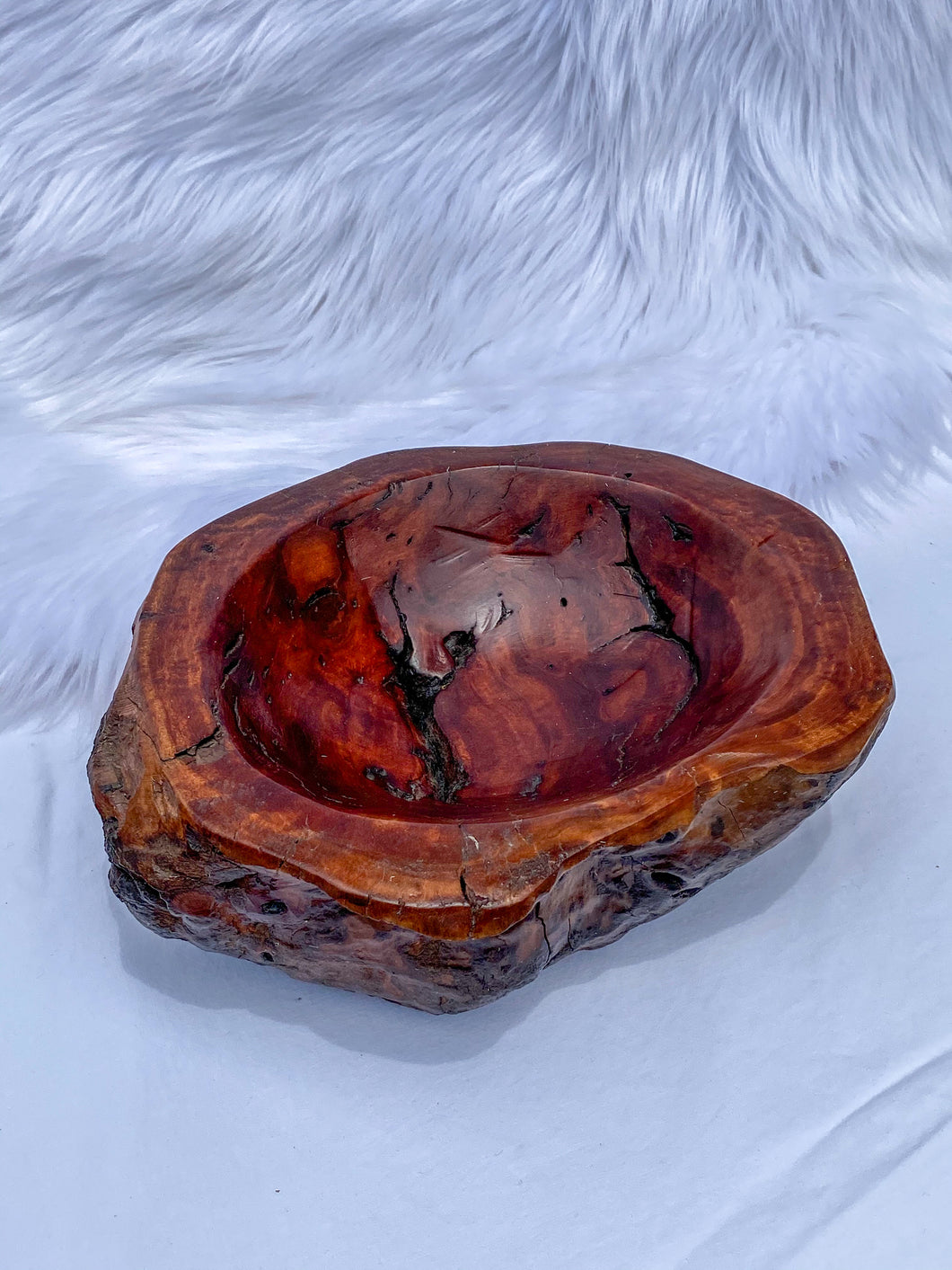 Ceremonial Wooden Bowl 1288g