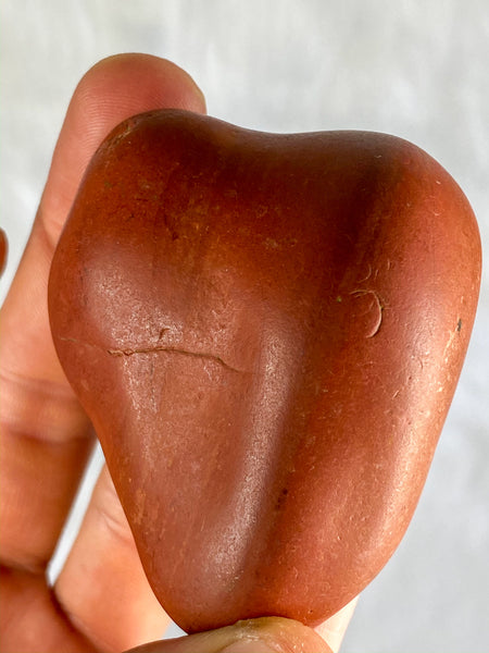 Red Jasper One Face Polished 148g