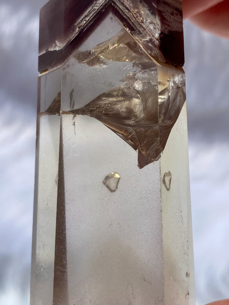 Lithium Polished Point with Phantom and Manifestation 100g