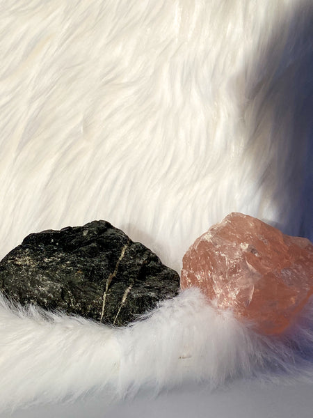 Rose Quartz and Black Tourmaline House Protection 234g/318g