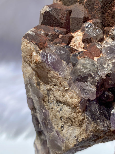 Amethyst with Hematite Inclusions Natural 450g