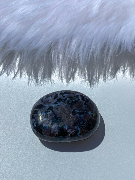 Gabbro Mystic Merlinite Pebble 137g