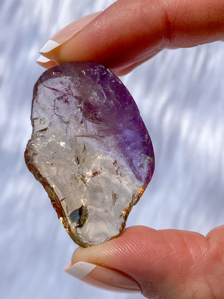 Ametrine One Face Polished 16g