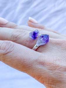 Reflection Amethyst Ring