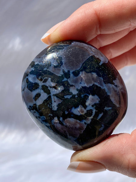 Gabbro Mystic Merlinite Pebble 176g