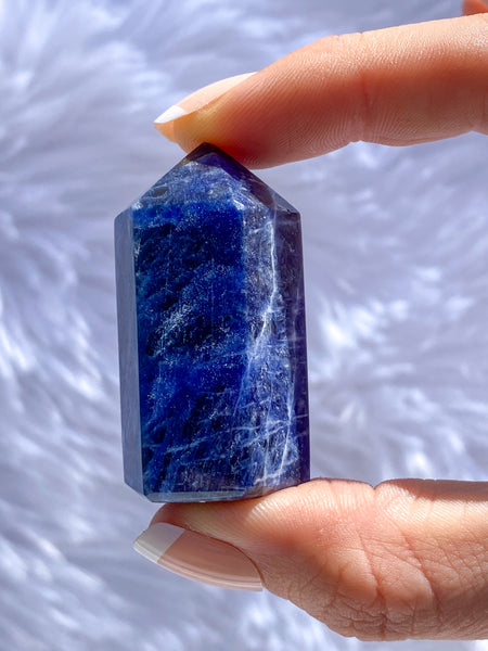 Sodalite Polished Point 46g