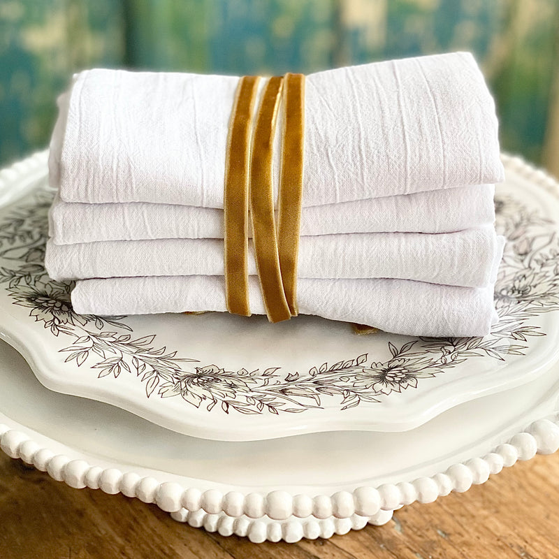 Flour Sack Towels Set of 4