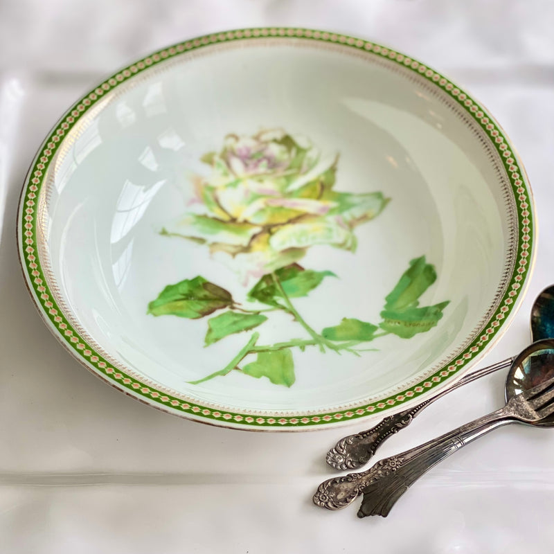 Bavarian Floral Serving Bowl