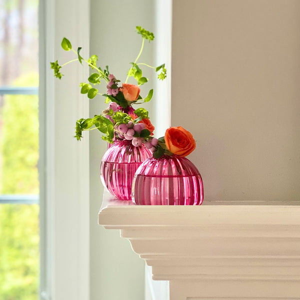 Artisan Bud Vases in Juneberry