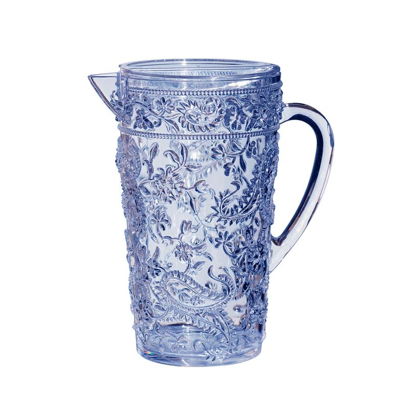 Delphinium Blue Acrylic Pitcher