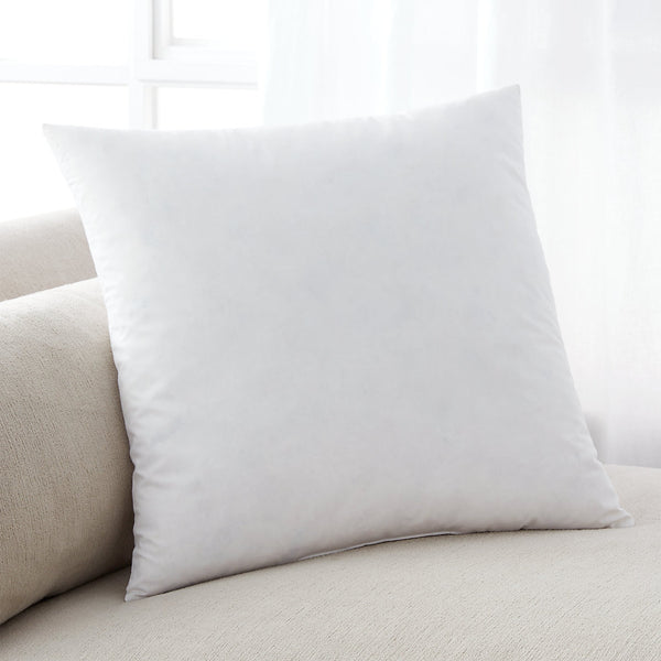 "Premium 22"" Down Feather Pillow Insert"