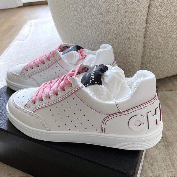 Chanel Spring-Summer 2021 white/pink trainers