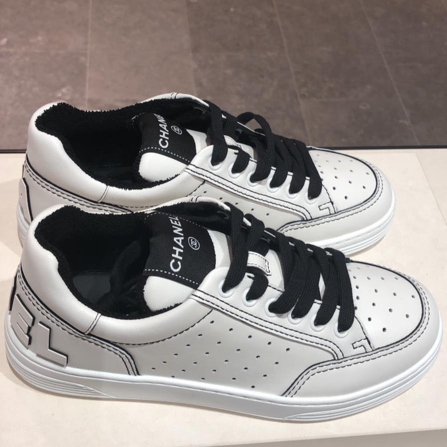 Chanel Spring-Summer 2021 black & white trainers