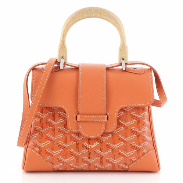 Goyard Saigon mini soft bag orange
