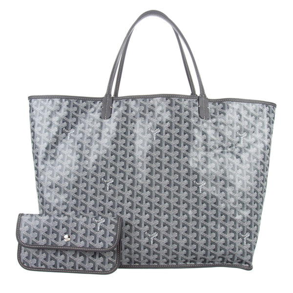 Goyard Anjou GM tote in special colors grey