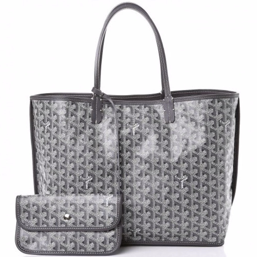 Goyard Anjou PM tote in special colors grey