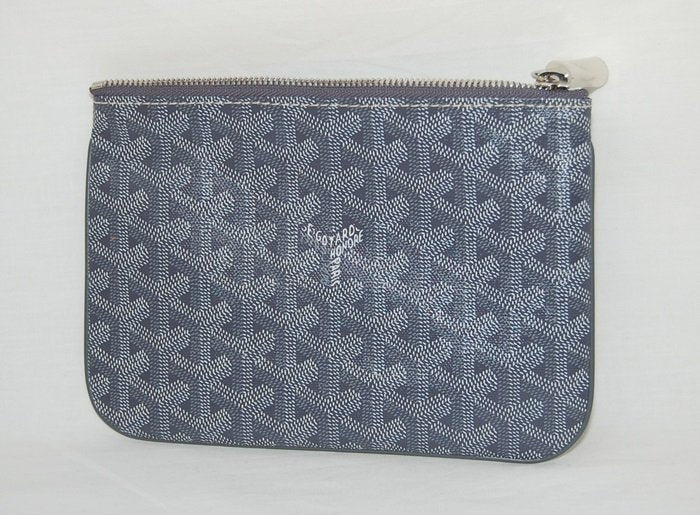 Goyard Senat small pouch in special colors grey