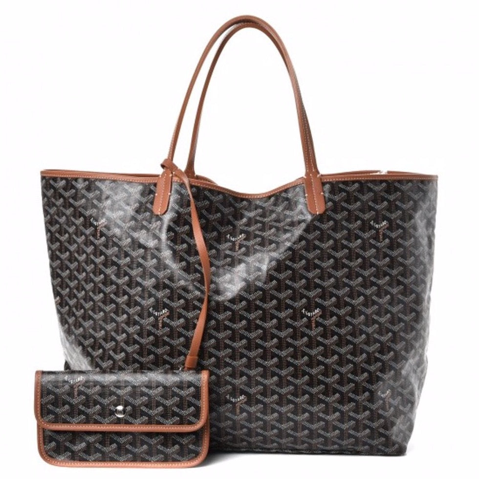Goyard Saint Louis GM classic colors black/tan