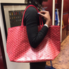 Goyard Saint Louis GM tote in special colors red