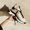 Chanel Cruise 2020 beige suede trainers