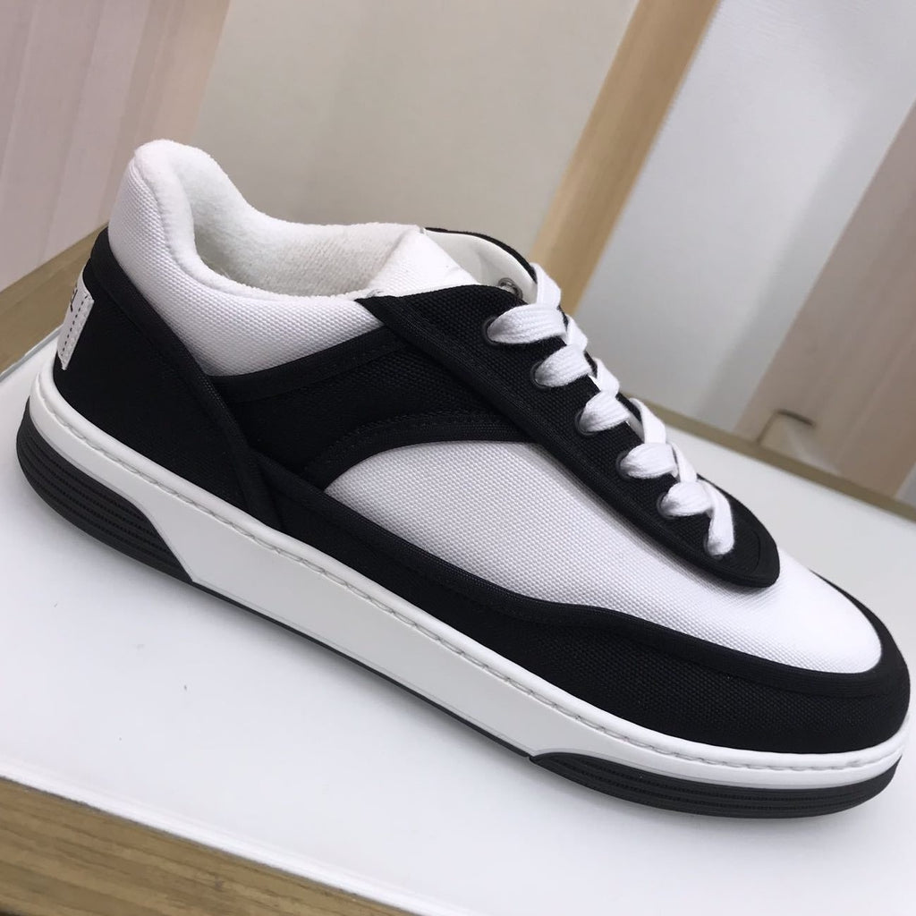 CHANEL Black fabric sneakers Spring-Summer 2021