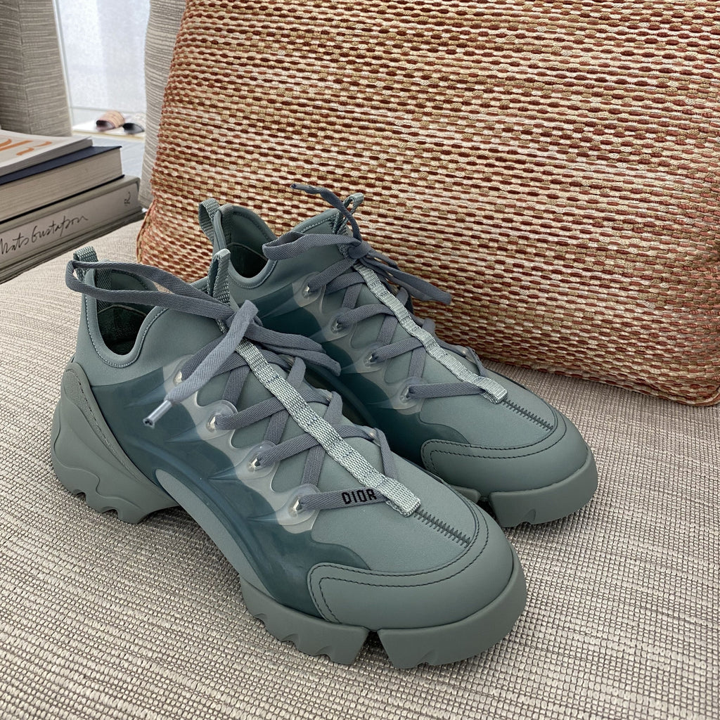 Dior SS2020 blue grey D-connect sneakers