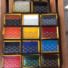 Goyard Saint Sulpice card holder in special colors