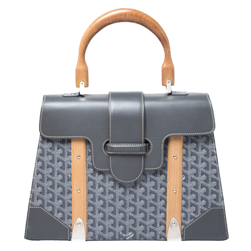 Goyard Saigon MM tote grey