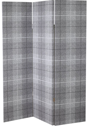 Country Check Charcoal Screen