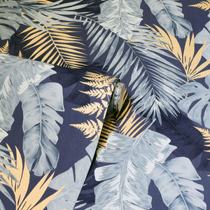 Soft Tropical Navy