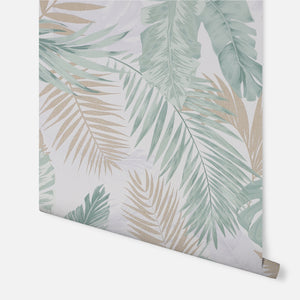 Soft Tropical Green