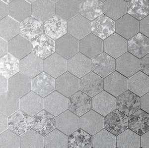 Foil Honeycomb Silver
