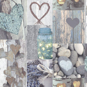 Rustic Heart Natural