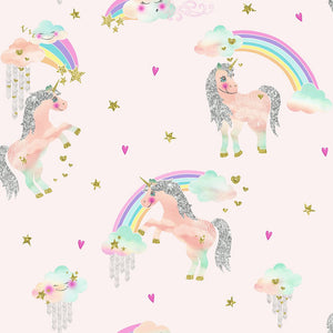 Rainbow Unicorn Pink
