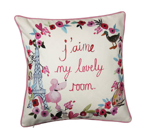 Paris with Love Cushion