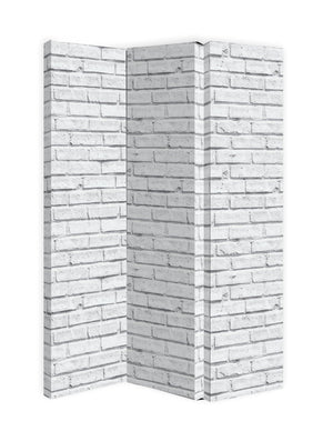 White Brick Screen