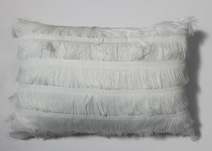 White Fluffy Cushion