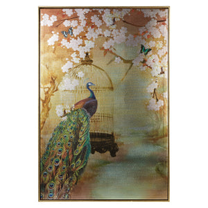 Suki Peacock Canvas
