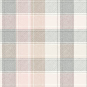 Country Check Pink & Grey