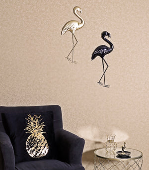 Black Flamingo Wall Art