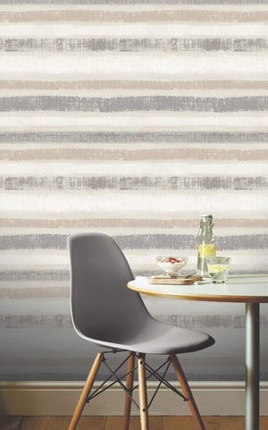 Painted Stripe Chalk Grey