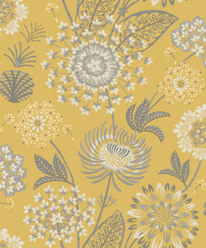 Vintage Bloom Mustard Yellow