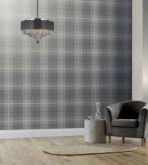 Country Tartan Charcoal