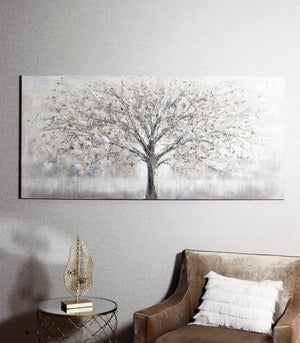 Canvas Tree Decoration