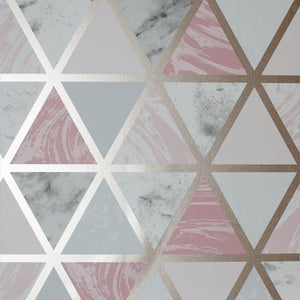 Marble Geo Pink Multicoloured