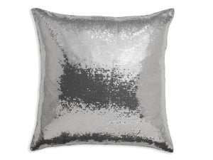 Platinum Sequin Cushion